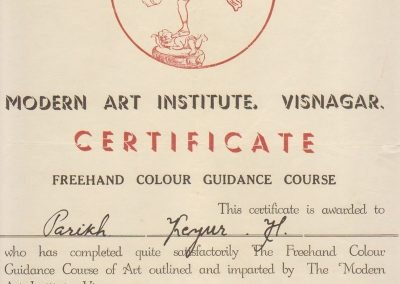 Modern Art Institute - Freehand Colour Guidance Course