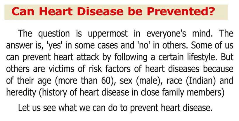 Can heart disease be prevented?