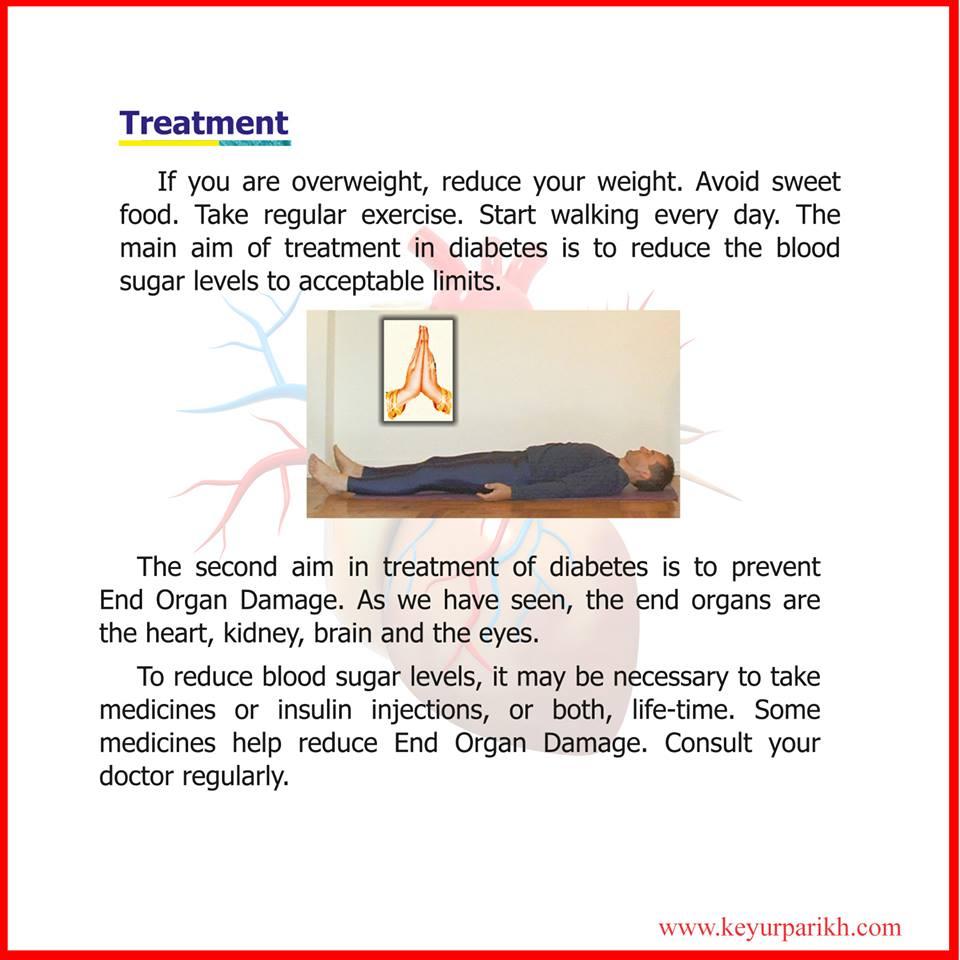 Treatment of diabetes.