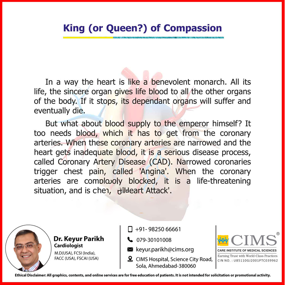 King (Or Queen?) of compassion.