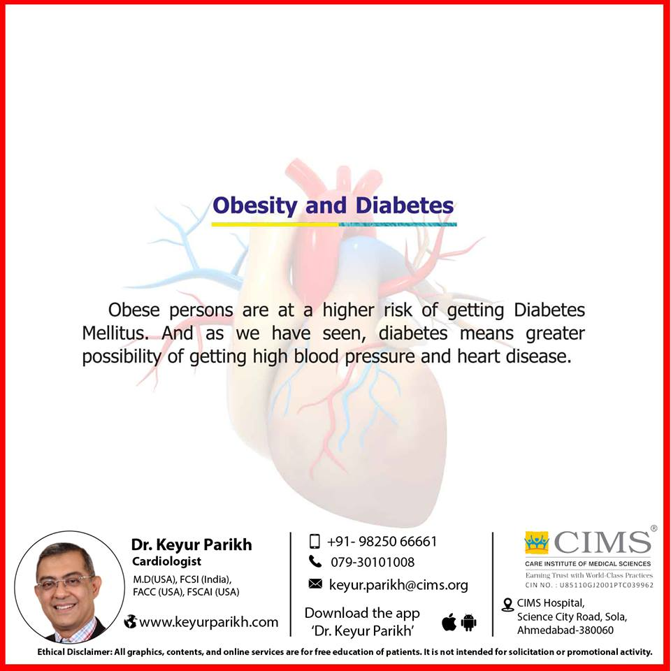 Obesity and diabetes.