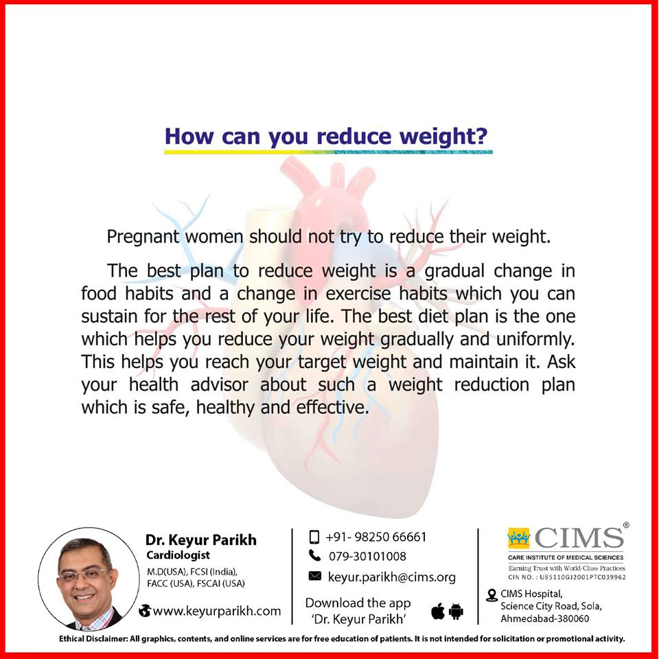 How can you reduce weight?