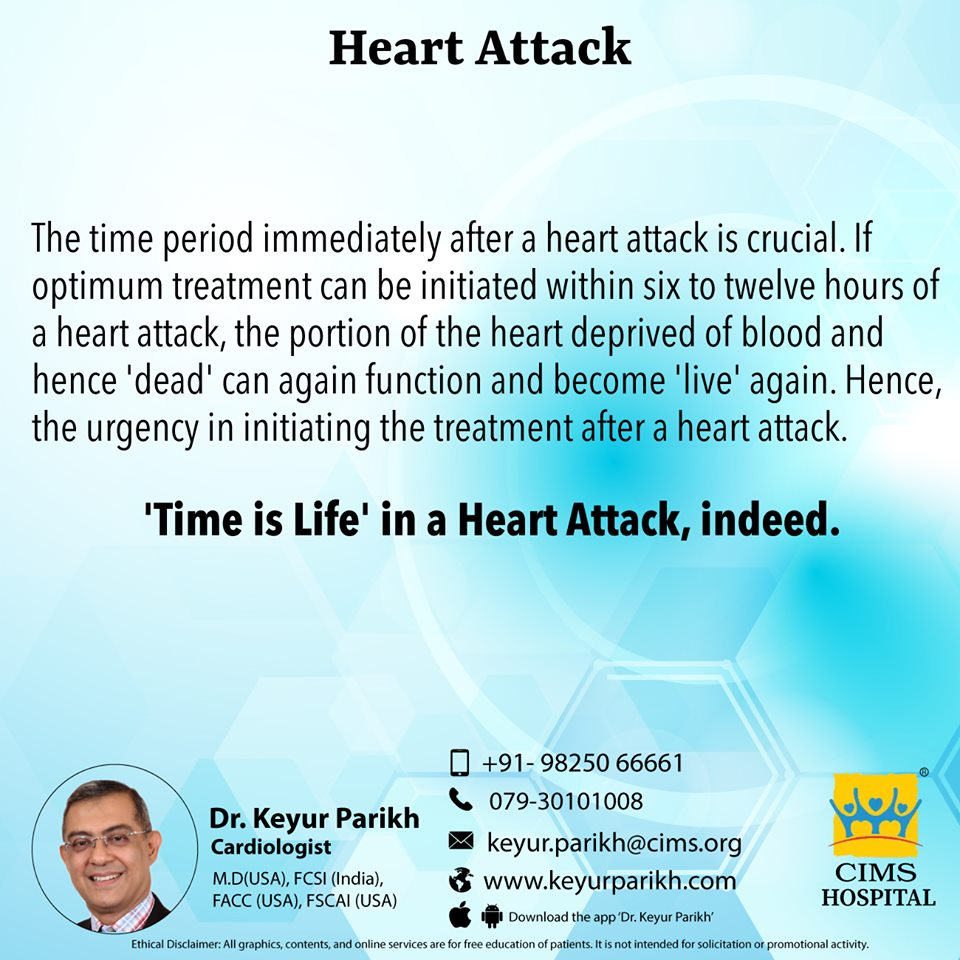 About heart attack